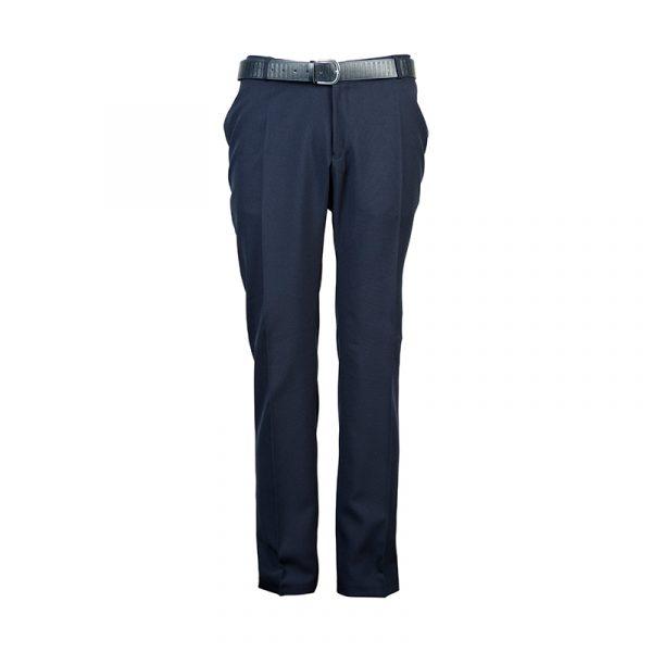 Heren pantalon band donker navy