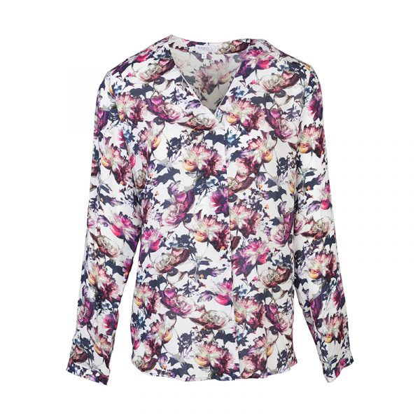 Dames blouse met bloemen