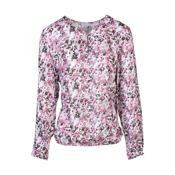 Roze dames blouse