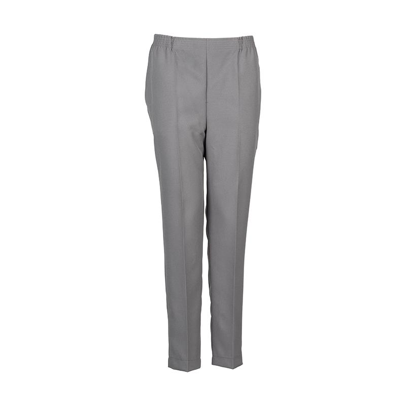 Grijze dames pantalon