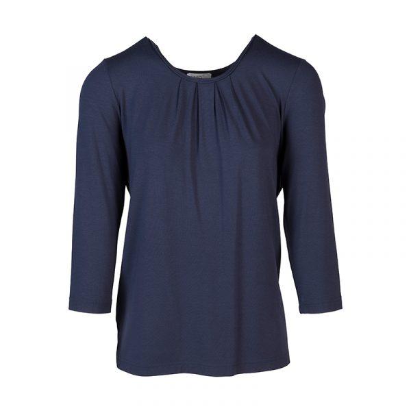 Blauw effe dames shirt