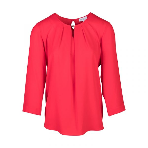Rode dames blouse