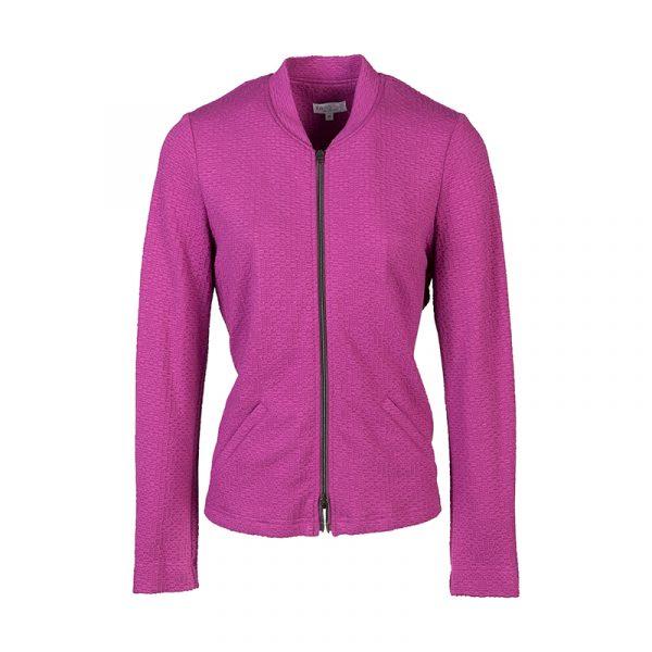 Roze blazer met rits