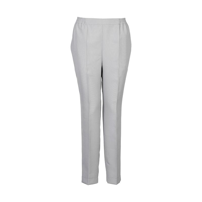 Licht grijze dames pantalon