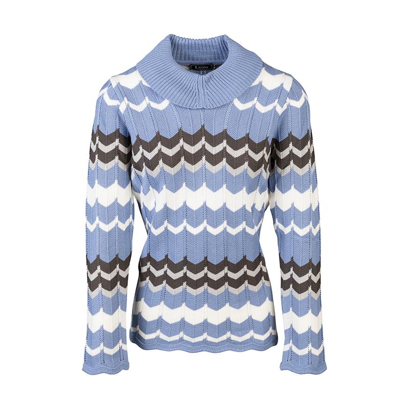 Pullover met hoge kraag