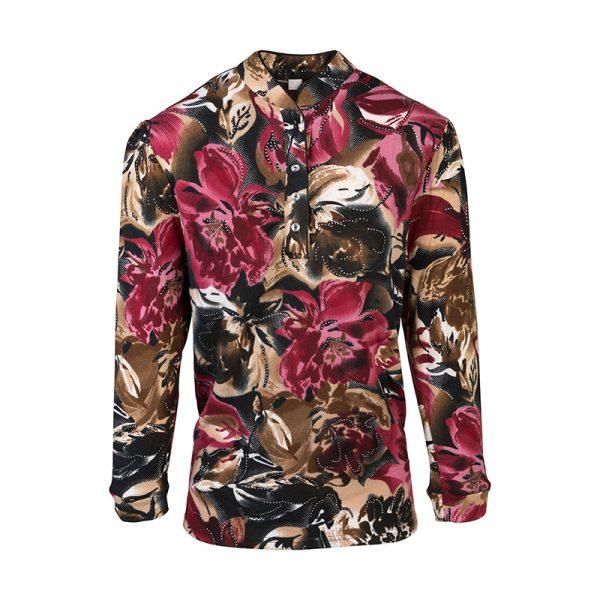 Dames bloemen blouse