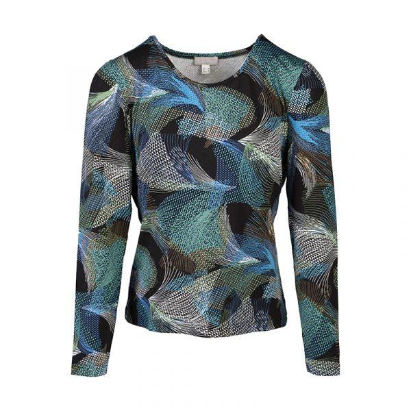 Dames shirt met grafisch design