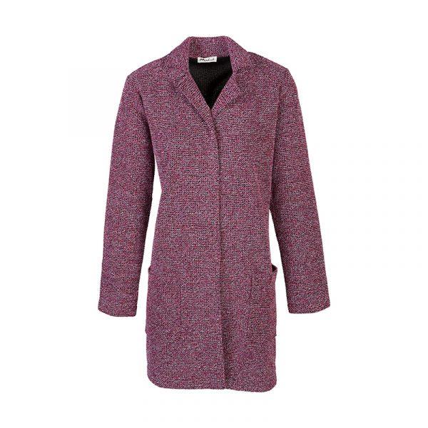 Roze lange blazer