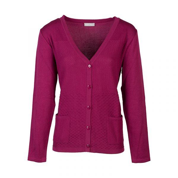 Roze dames vest