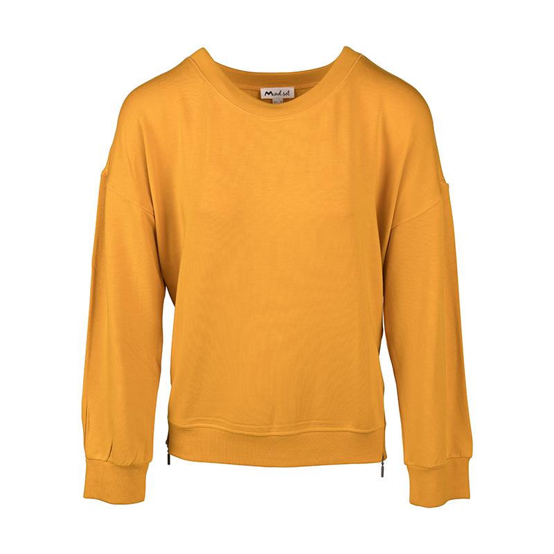 Gele dames pullover