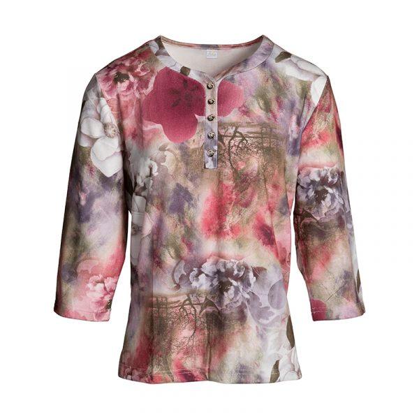 Dames shirt bordeaux