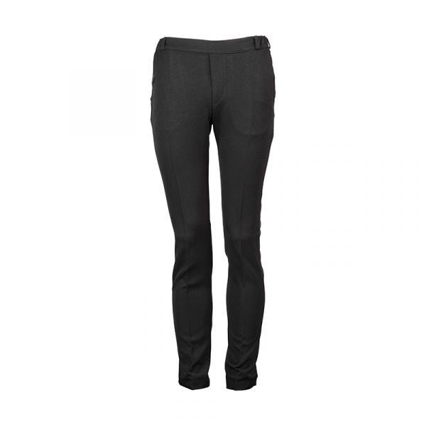 Heren pantalon elastische band zwart