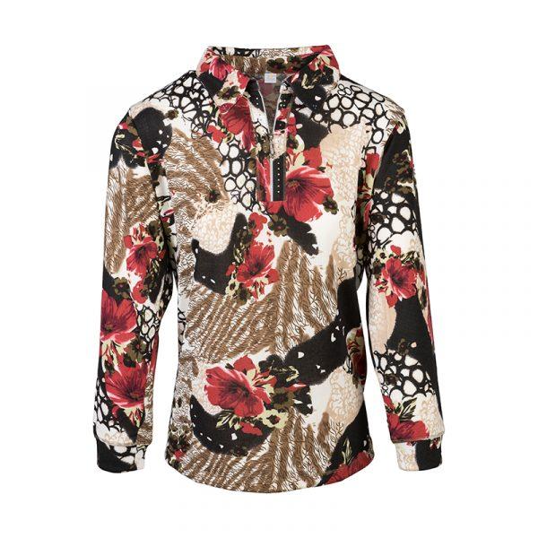 Dames v-hals shirt
