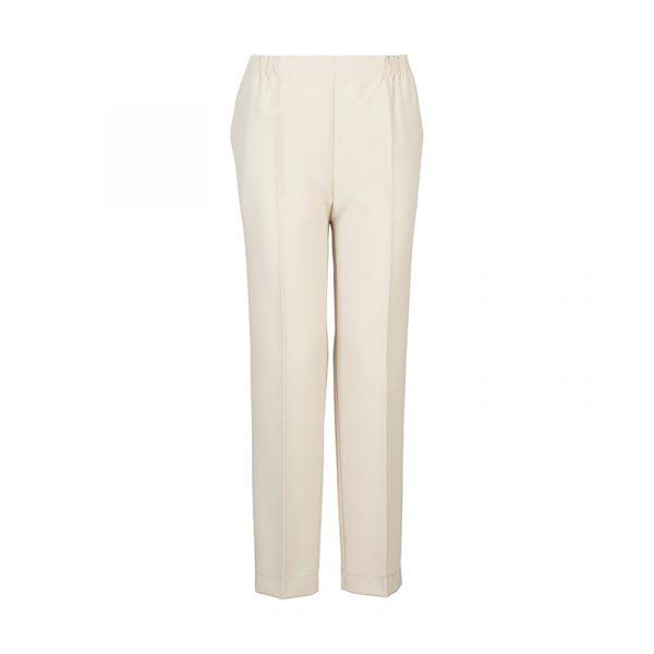 Beige dames pantalon
