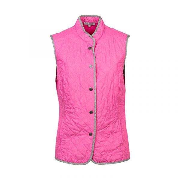 Roze dames gilet