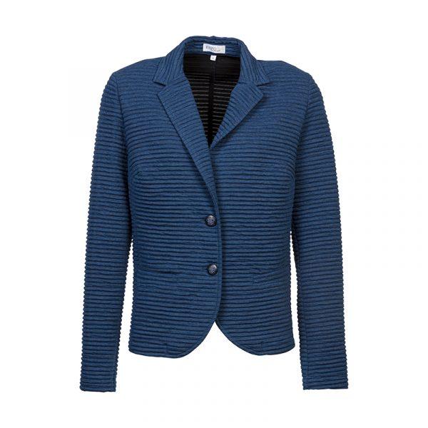 Blauwe dames blazer