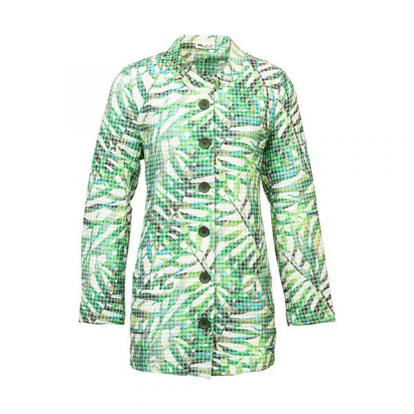 Lange dames blazer groen