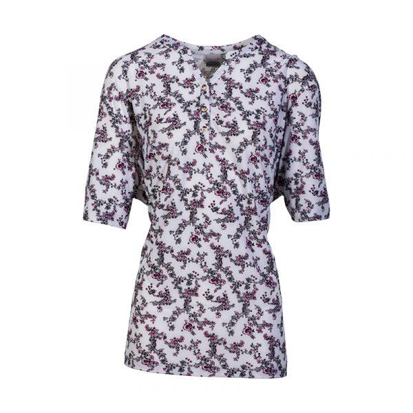 Roze damesshirt met print