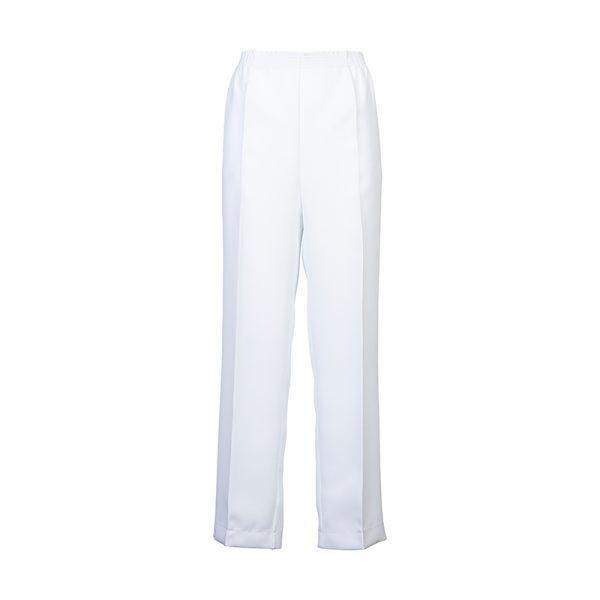 Witte pantalon dames lange lengte